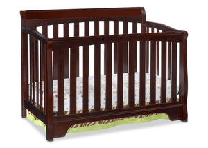Delta Childrens Vintage Espresso (616) Eclipse 4-in-1 Crib d1d