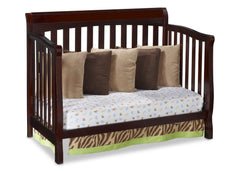 Delta Childrens Vintage Espresso (616) Eclipse 4-in-1 Day Bed Conversion Right View d3d