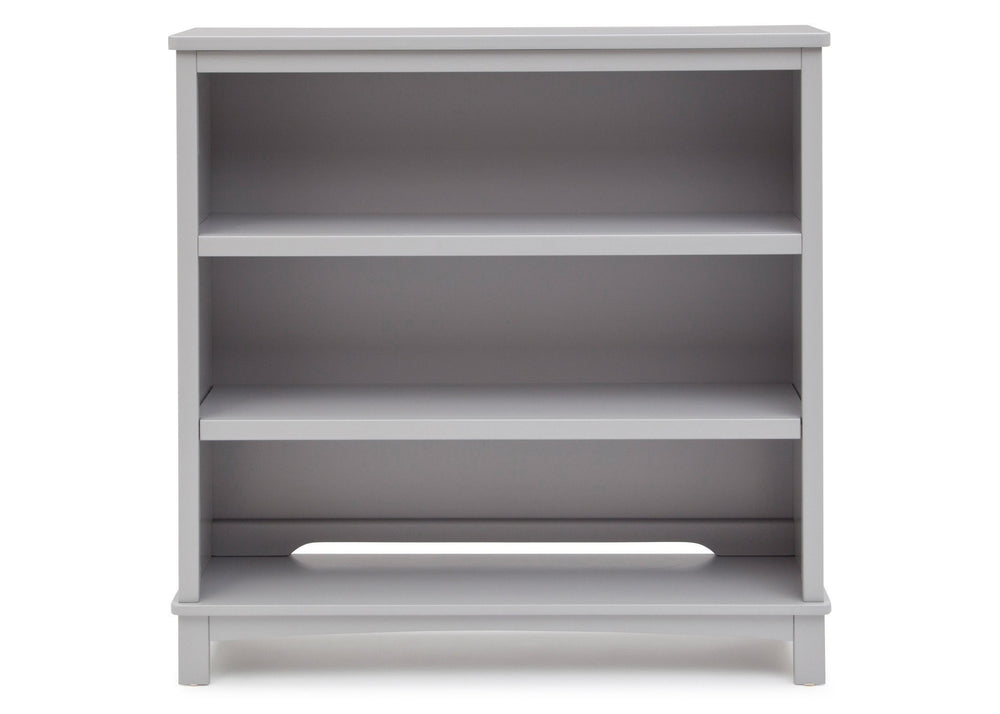 Simmons Kids Grey (026) Rowen Bookcase & Hutch atop Base a1a