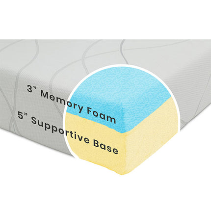 Luxury 8-inch Memory Foam Mattress