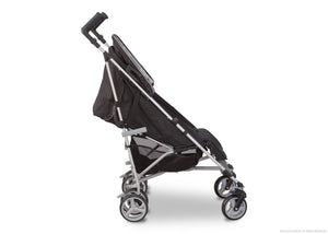 Simmons Kids® Sheriff Black (014) Comfort Tech Tour LX Stroller, Side View b2b