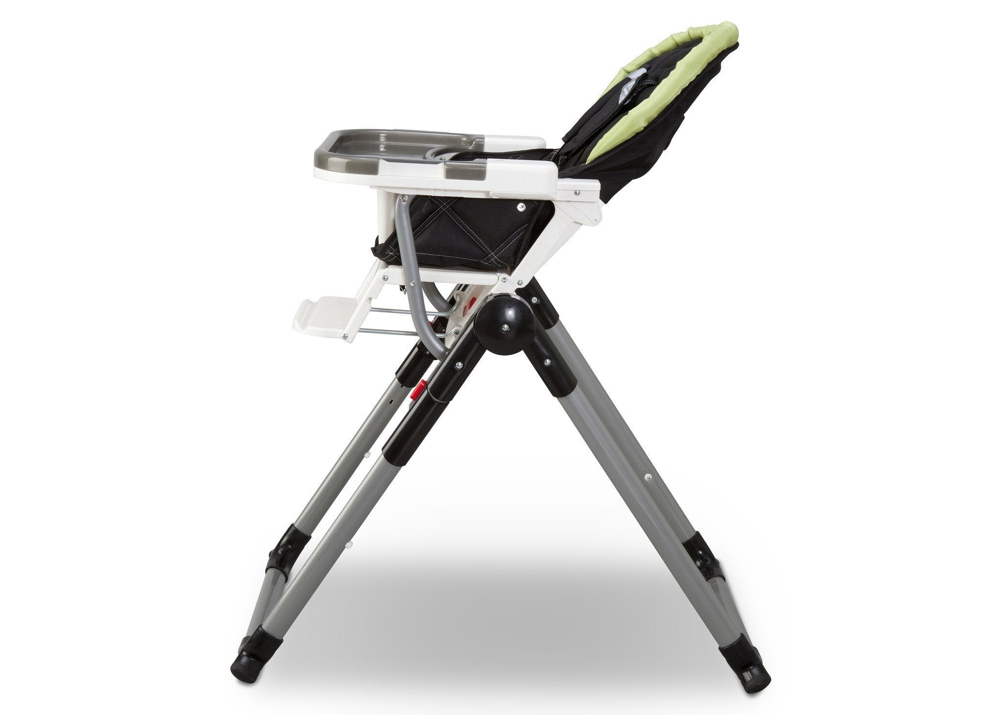 Simmons Kids Black / Lime (013) Comfort Tech Tour High Chair Full Left View a2a
