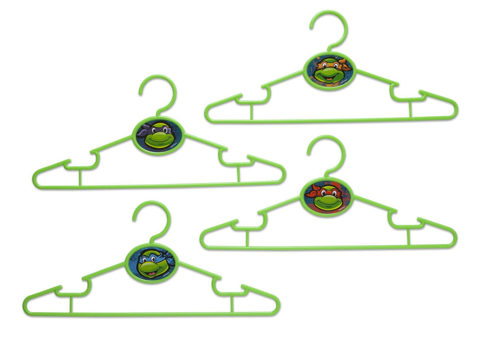 Delta Children Teenage Mutant Ninja Turtles Infant & Toddler Hangers, 30 Pack Front View a1a