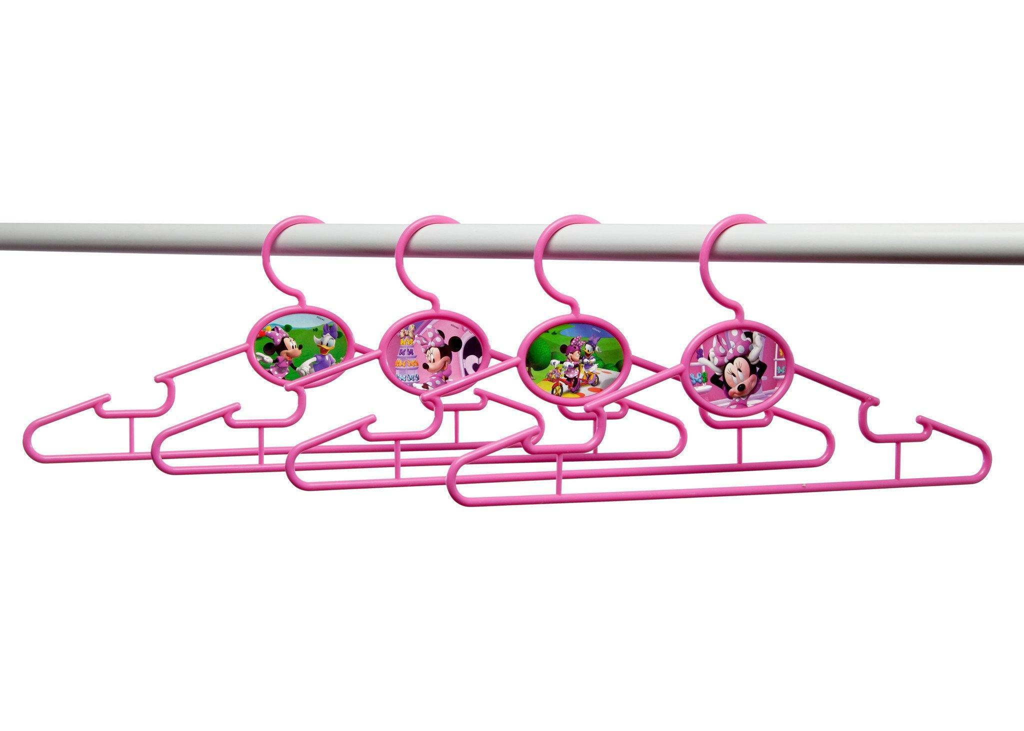 Delta Children Minnie Mouse Infant & Toddler Hangers, 30 Pack Bar View a2a Style-1 (1058)