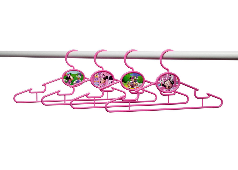 Delta Children Minnie Mouse Infant & Toddler Hangers, 50 Pack Bar View a2a