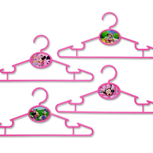 Delta Children Minnie Mouse Infant & Toddler Hangers, 50 Pack Front View a1a