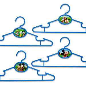Delta Children Mickey Mouse Infant & Toddler Hangers, 50 Pack Front View a1a
