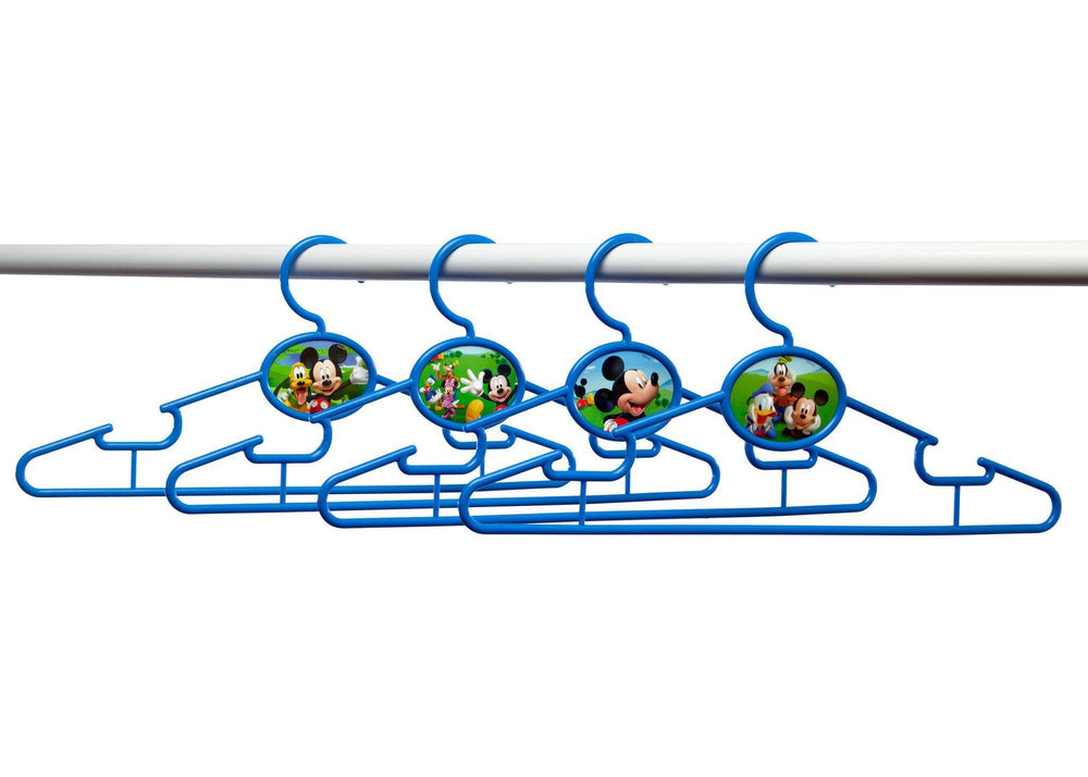 Delta Children Mickey Mouse Infant & Toddler Hangers, 50 Pack Bar View a2a
