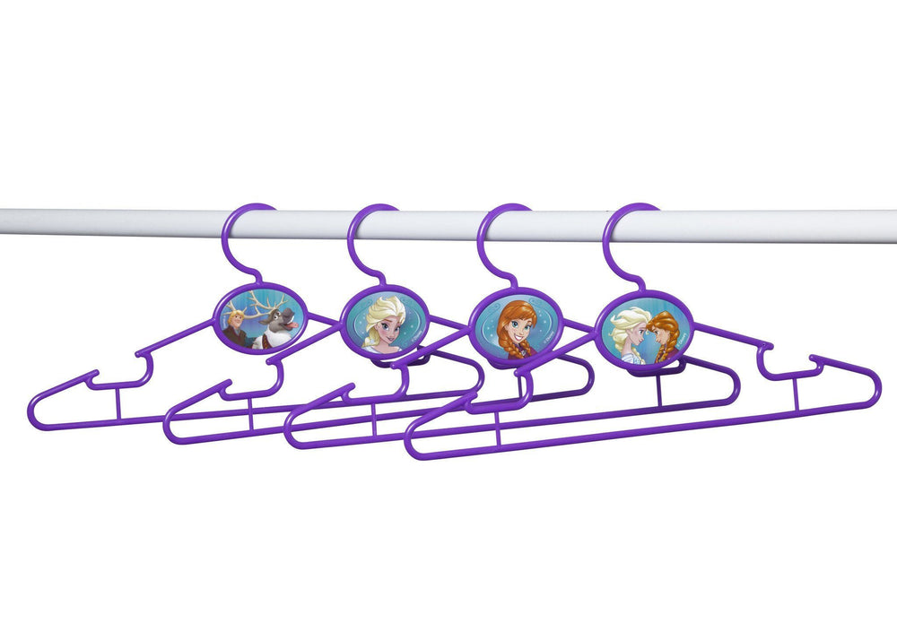Delta Children Frozen Infant & Toddler Hangers, 50 Pack Bar View a2a