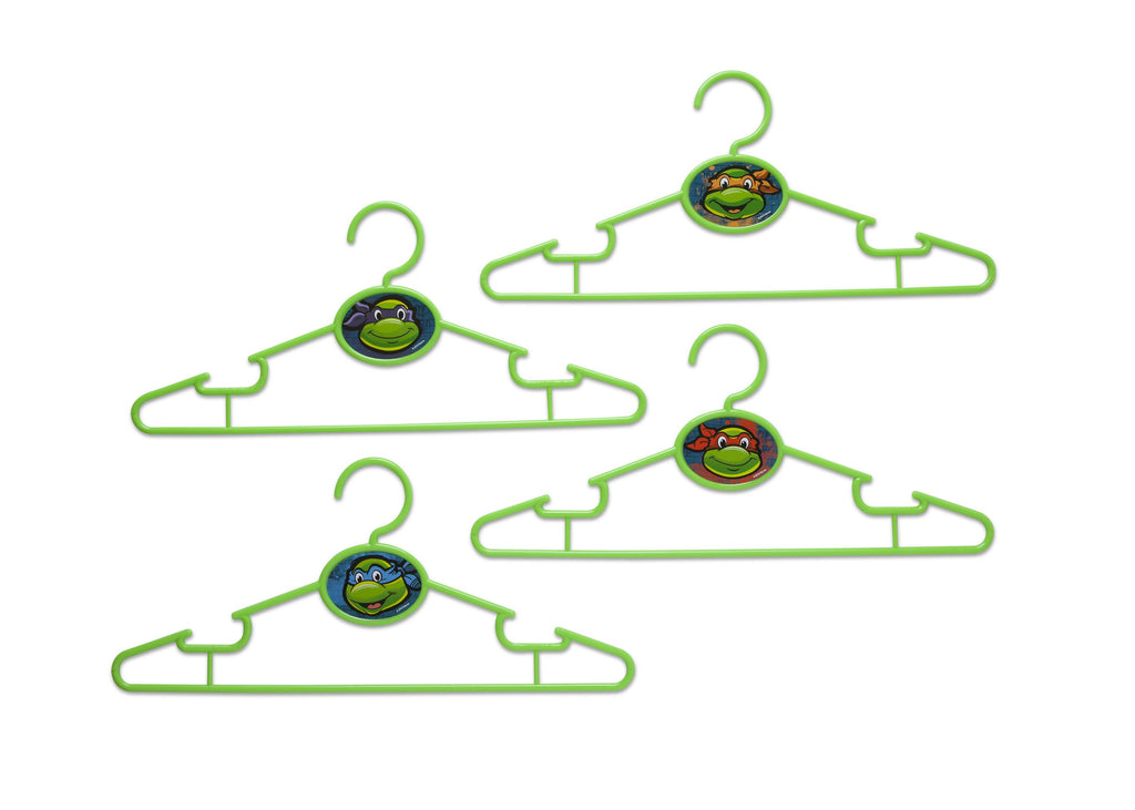Delta Children Teenage Mutant Ninja Turtles Infant & Toddler Hangers, 50 Pack Front View a1a