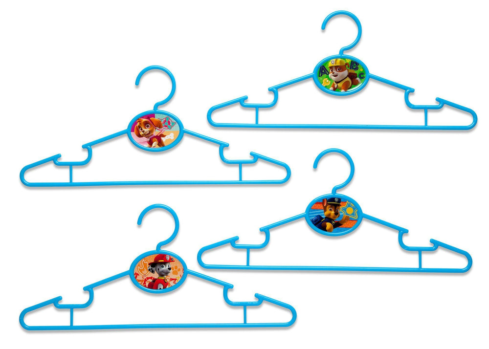 Delta Children PAW Patrol Infant & Toddler Hangers, 50 Pack Front View a1a