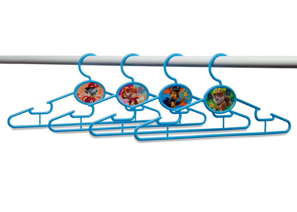 Delta Children PAW Patrol Infant & Toddler Hangers, 50 Pack Bar View a2a