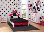 Minnie Mouse Wooden Twin Bedroom Collection (99447MN), Hangtag, a1a