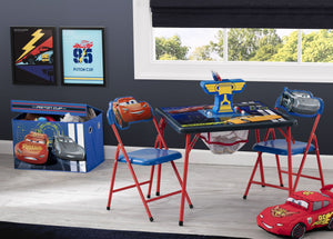 Delta Children Disney Cars (1014) 4-Piece Kids Furniture Set (99511CR), Hangtag, a1a