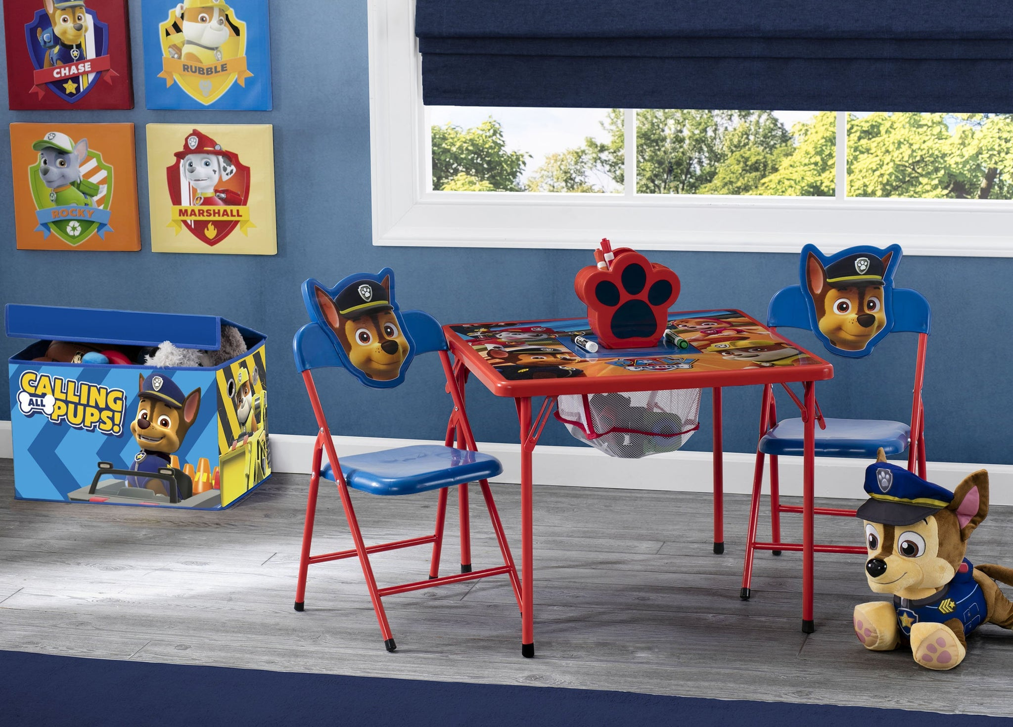 Delta Children Paw Patrol (1121) 4 Piece Kids Furniture Set (99513PW), Hangtag, a1a