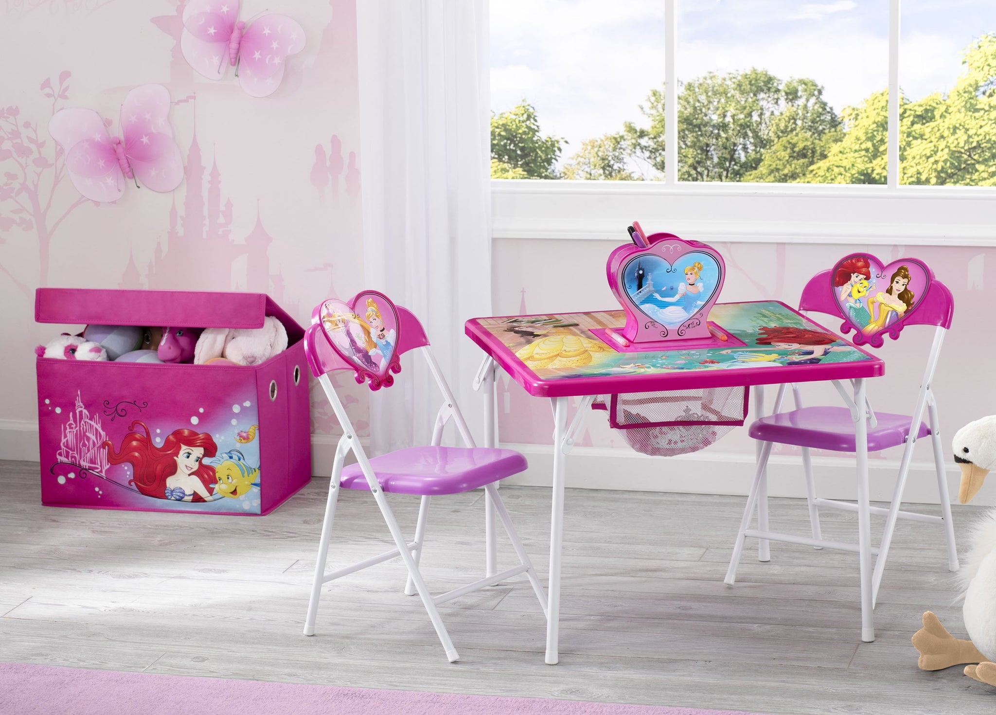 Delta Children Disney Princess (1034) 4-Piece Kids Furniture Set (99514PS), Hangtag, a1a
