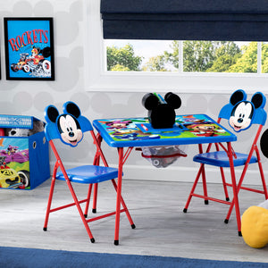 Disney Mickey Mouse (1053) 4-Piece Kids Furniture Set (99528MM), Hangtag, a1a