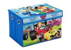 Disney Mickey Mouse (1053) 4-Piece Kids Furniture Set (99528MM), Toy Box Silo, a4a