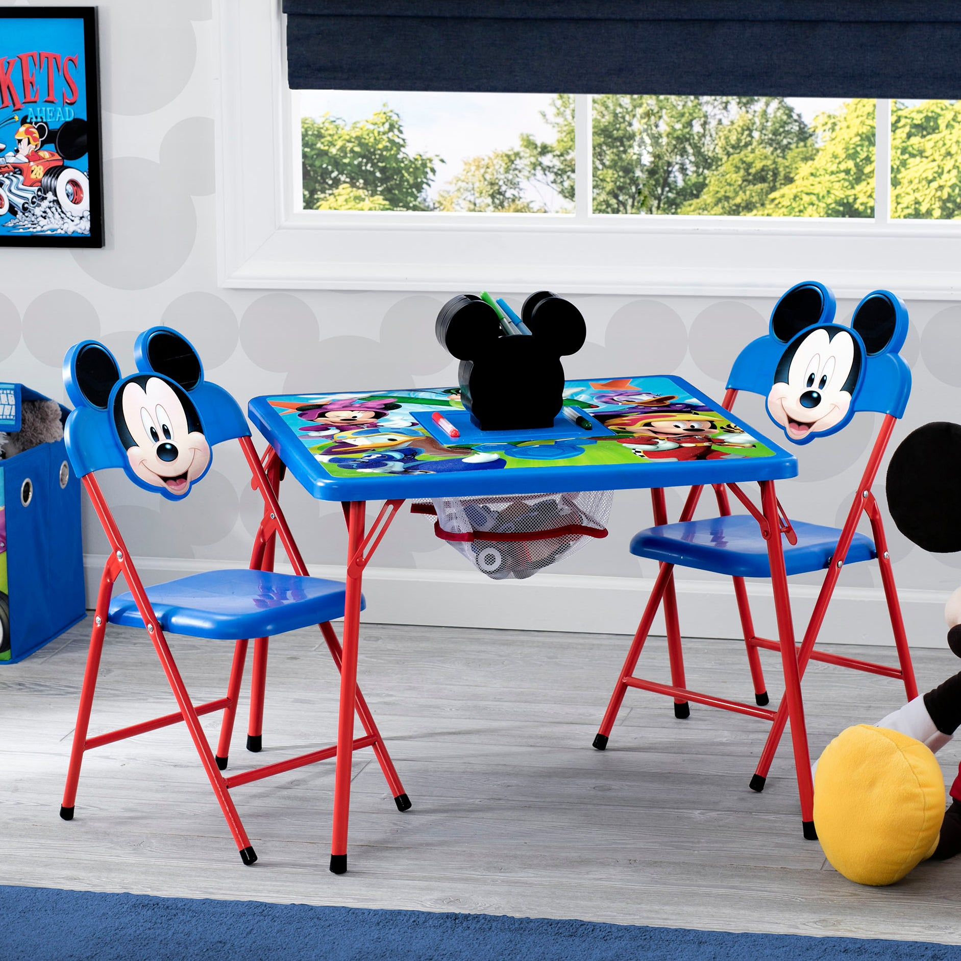 Mickey Mouse 4-Piece Kids Furniture Set