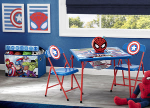 Delta Children Avengers (1159) 4-Piece Kids Furniture Set (99531AV), Hangtag, a1a
