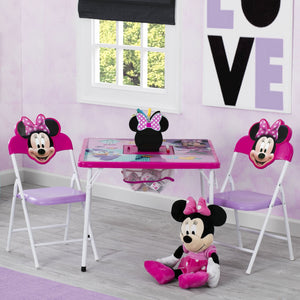 Disney Minnie Mouse (1064) 4-Piece Kids Furniture Set (99533MN), Hangtag, a1a