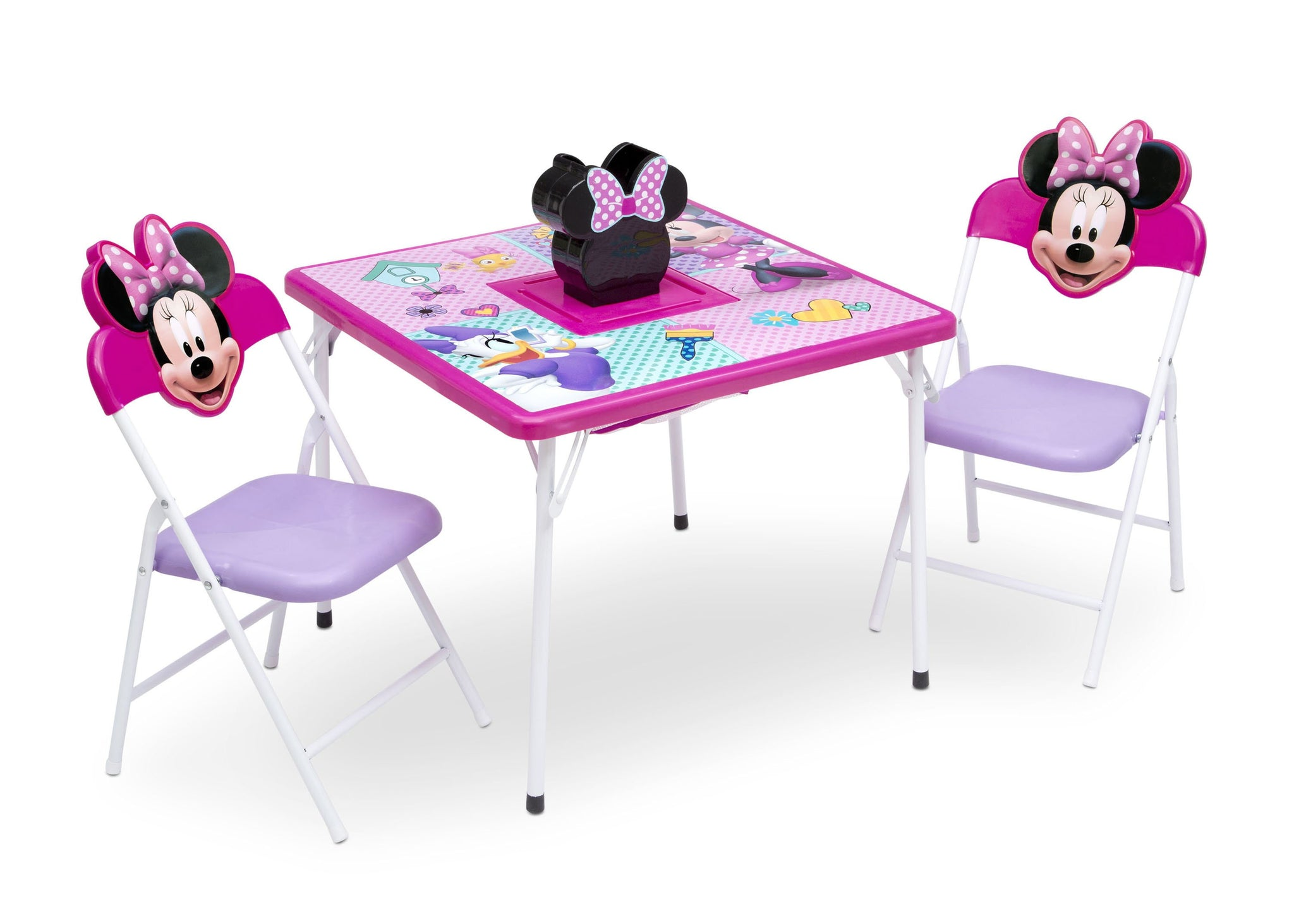 Disney Minnie Mouse (1064) 4-Piece Kids Furniture Set (99533MN), Table, a3a