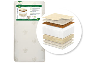 "Serta Perfect Eco Supremeâ""¢ Crib & Toddler Mattress, Front View a1a"