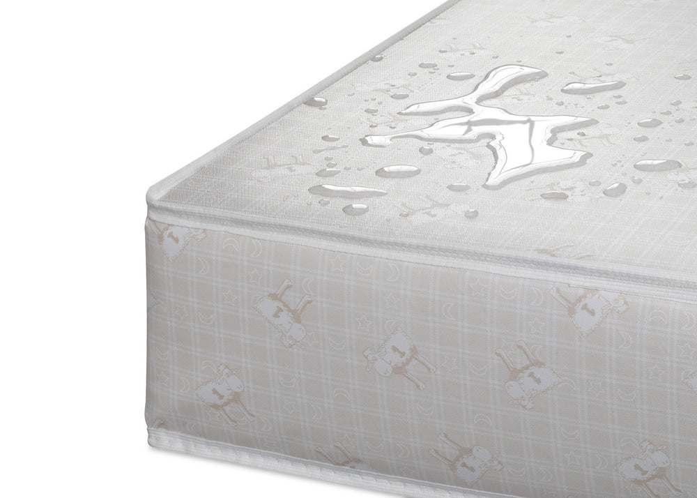 "Serta Nightstarâ""¢ Deluxe Crib & Toddler Mattress Detail a5a"