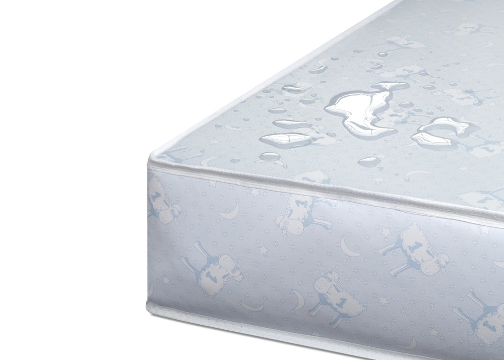 Serta Tranquility Extra Firm Crib & Toddler Mattress Detail a4a