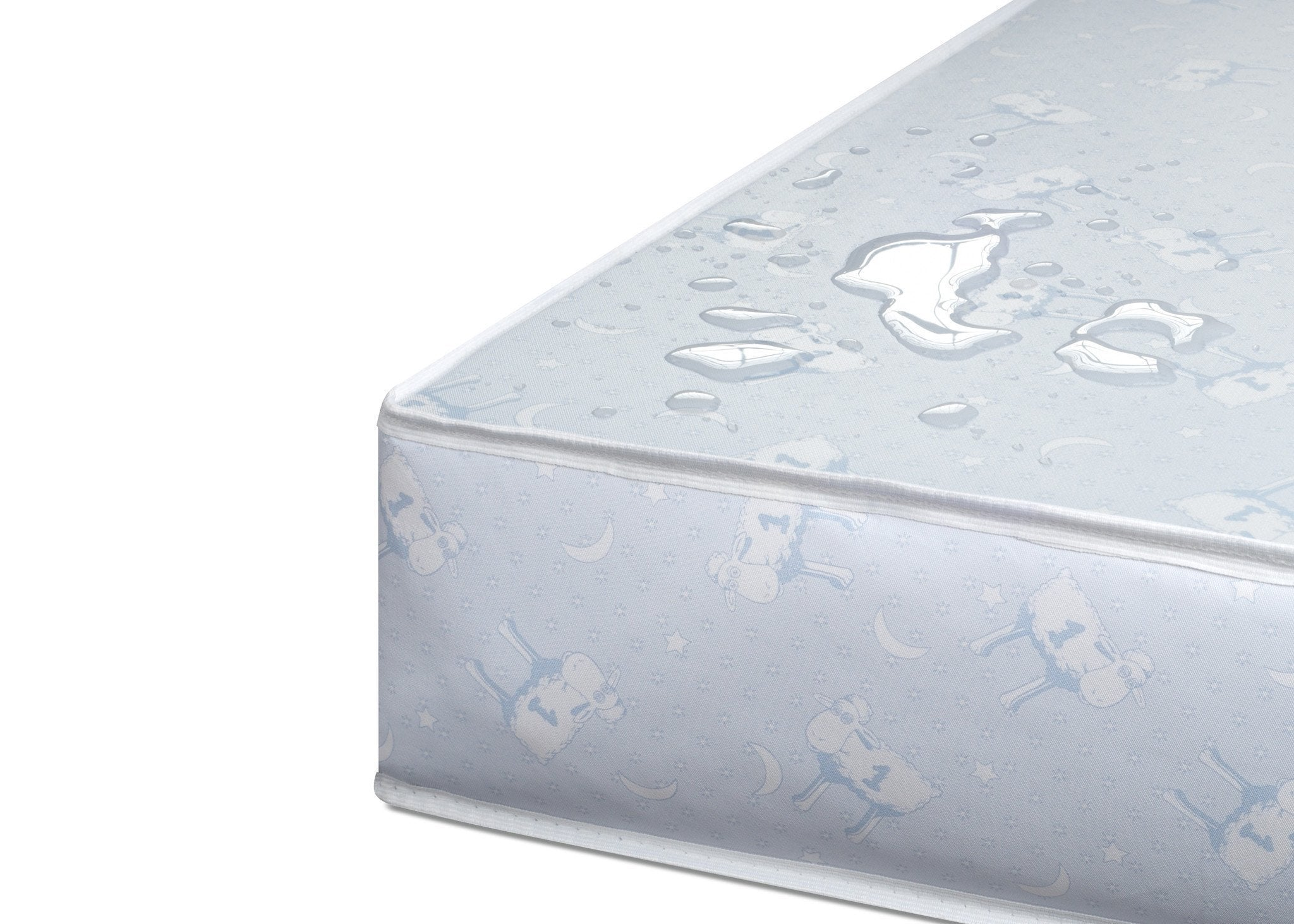 Serta Tranquility Extra Firm Crib & Toddler Mattress Detail a4a No Color (NO)