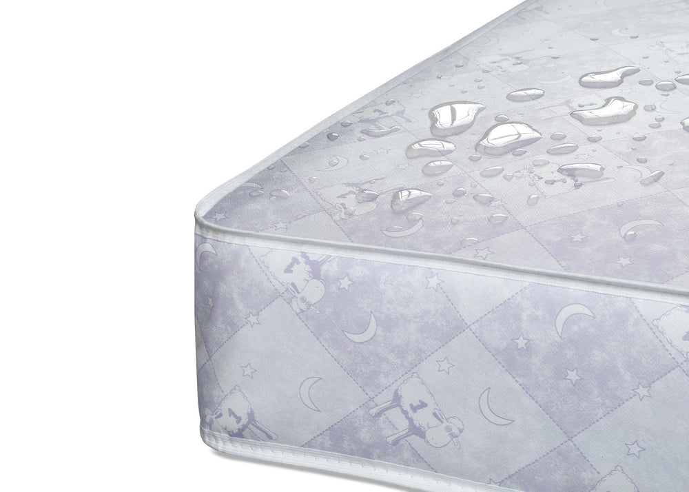 "Serta Tranquilityâ""¢ Super Firm Crib & Toddler Mattress Detail a4a"
