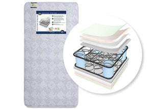 "Serta Nightstarâ""¢ Super Firm Crib & Toddler Mattress Front View a1a No Color (NO)"