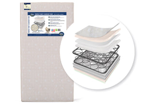 Serta Perfect Sleeper® Pirouette Crib and Toddler Mattress Cutout View a1a No Color (NO)
