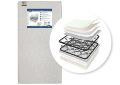 Serta Perfect Start Super Firm Crib & Toddler Mattress, Front View, a1a