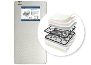 Serta Perfect Start Ultra Crib & Toddler Mattress, Front View, a2a No Color (NO)