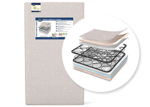 Serta Perfect Embrace Supreme 2 Stage Crib and Toddler Mattress (A46111-1117), a1a No Color (NO)