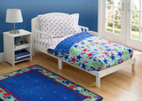 Boy 4-Piece Toddler Bedding Set, Star Gaze (2201) b1b