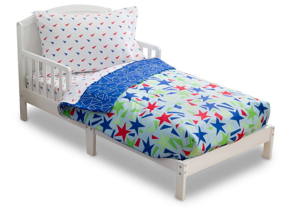 Boy 4-Piece Toddler Bedding Set, Star Gaze (2201) b3b