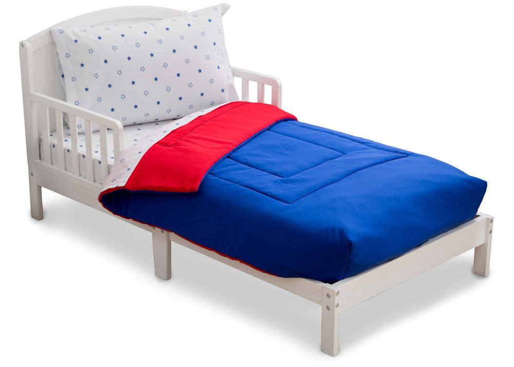 Boy 4-Piece Toddler Bedding Set, All-American (2206) f3f
