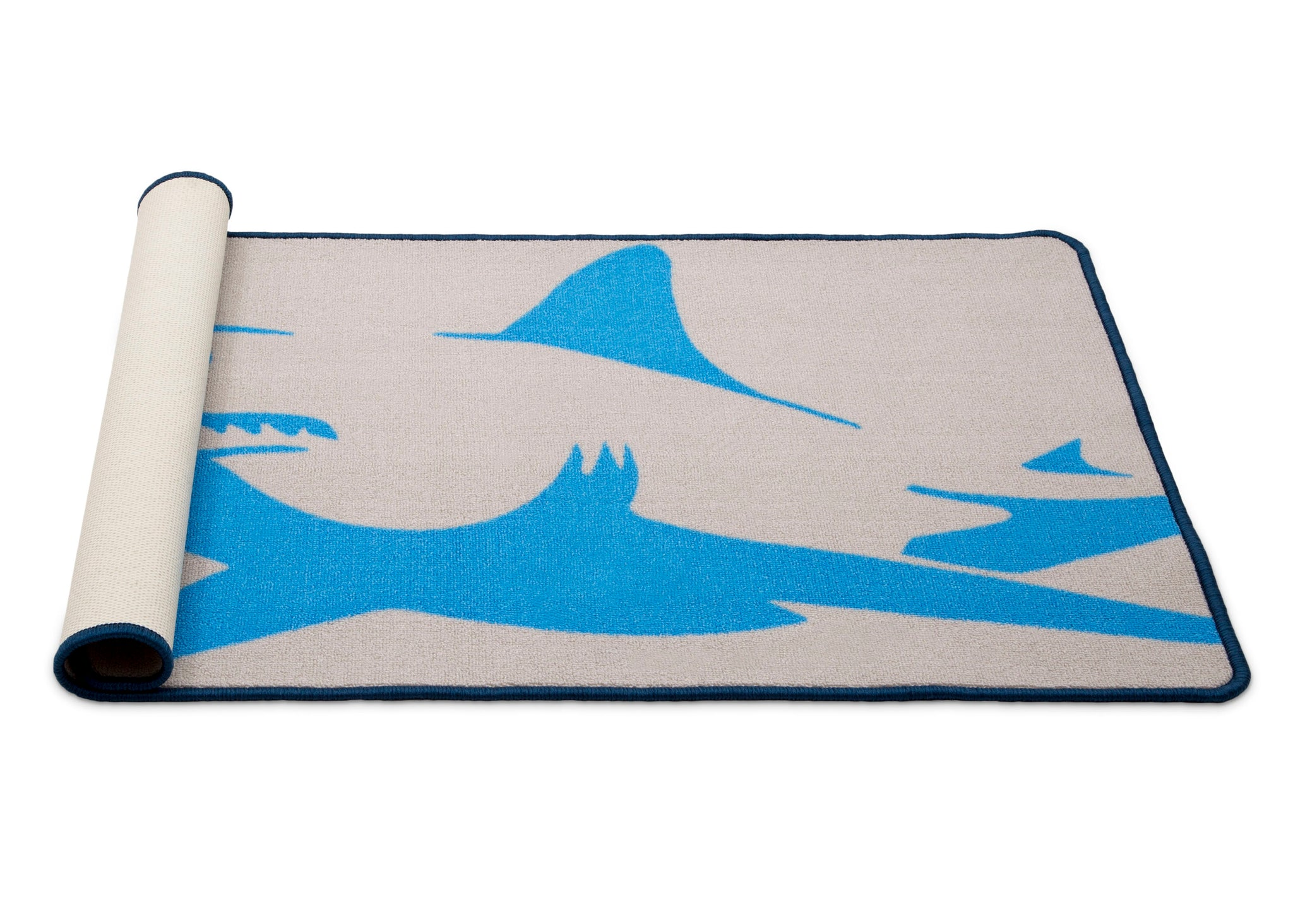 Delta Children Shark (3208) Non-Slip Area Rug for Boys, Silo View