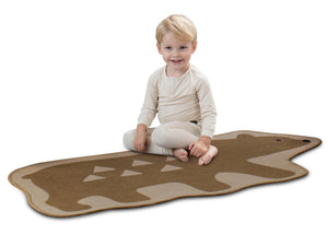 Delta Children Bear (3209) Non-Slip Area Rug for Boys, Model View