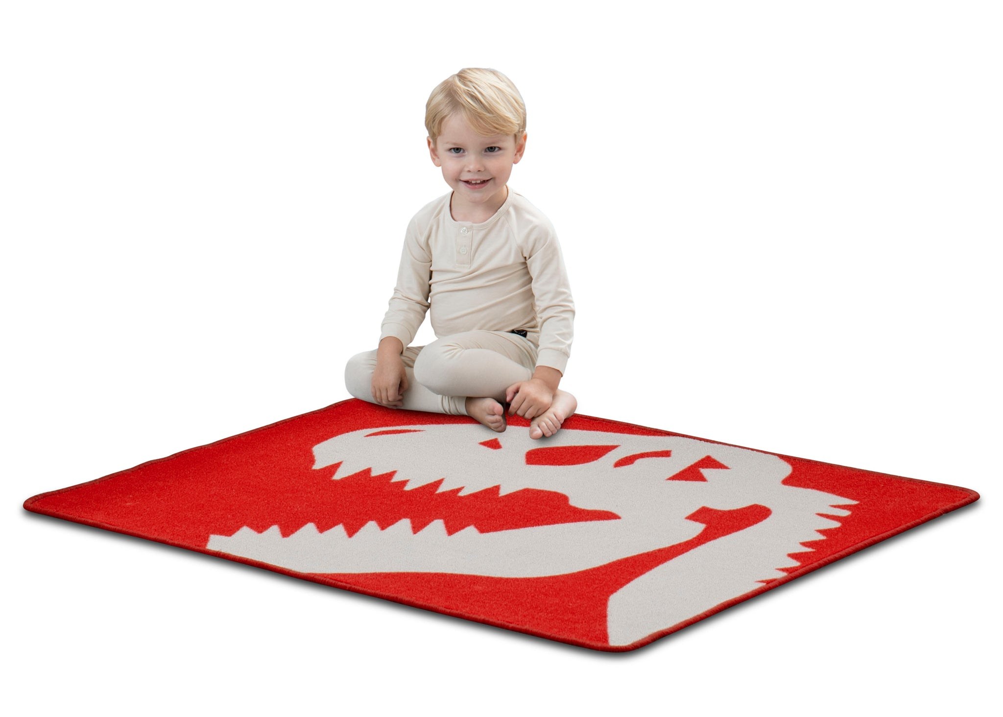 Delta Children Dinosaur (3210) Non-Slip Area Rug for Boys, Model View