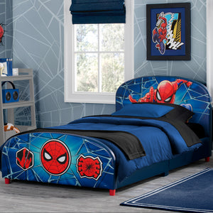 Spider-Man Upholstered Twin Bed