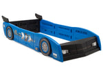 Delta Children Blue & Black (485) Grand Prix Race Car Toddler-to-Twin Bed, Twin Right Silo View