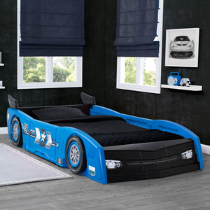 Grand Prix Race Car Toddler-to-Twin Bed