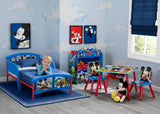 Delta Children Mickey Mouse Plastic Toddler Bed, Room View