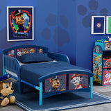 Delta Children Style 1 PAW Patrol Plastic Toddler Bed Room View a1a