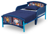 Delta Children Style 1 PAW Patrol Plastic Toddler Bed Left View a3a