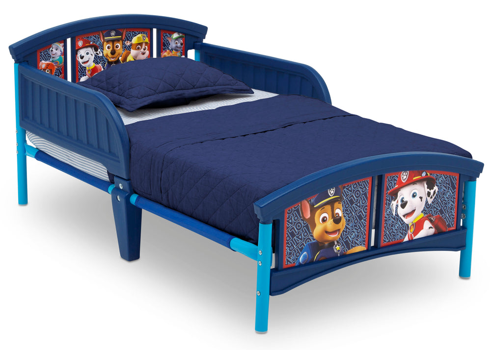 Delta Children Style 1 PAW Patrol Plastic Toddler Bed Right View a2a