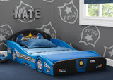 Police Car Plastic Sleep and Play Toddler Bed